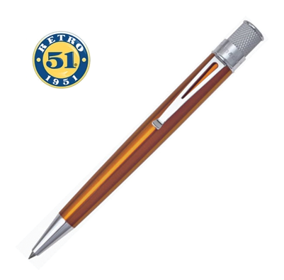 Retro 1951 Tornado Classic Orange Rollerball Pen - VRR-1302